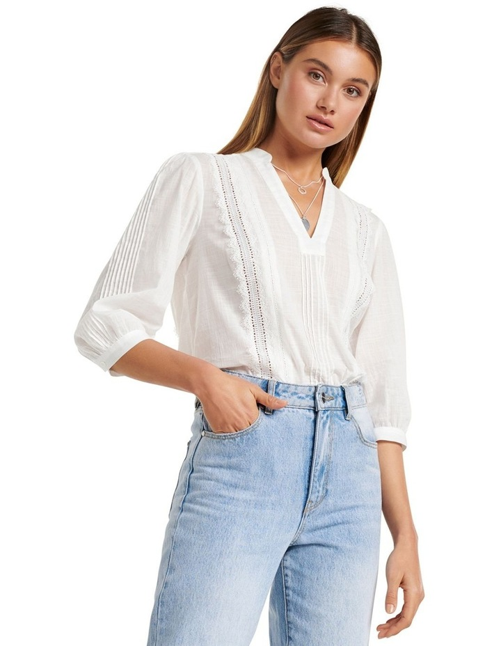 Briallyn Lace Trim Blouse image 2