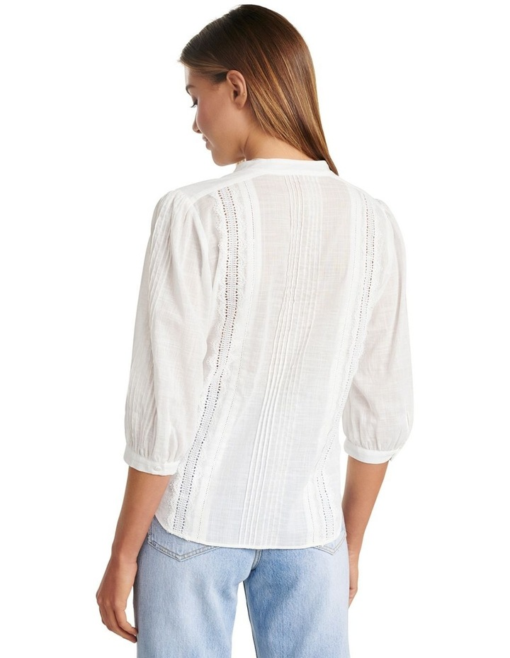 Briallyn Lace Trim Blouse image 4