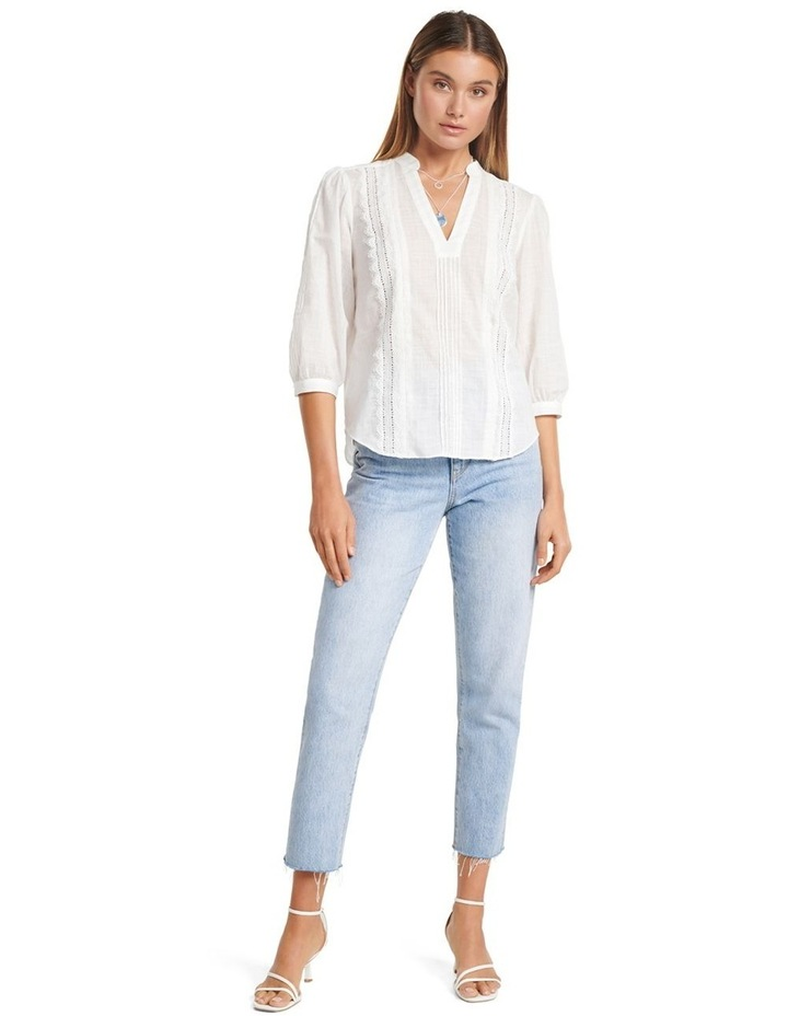Briallyn Lace Trim Blouse image 5