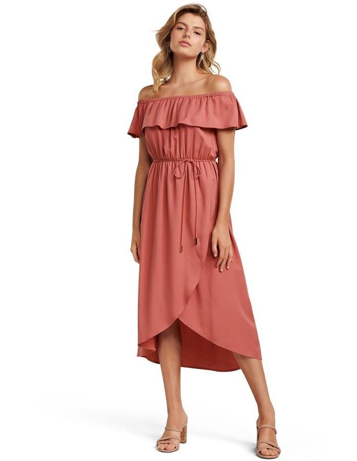 Sierra Petite Bardot Maxi Dress image 1