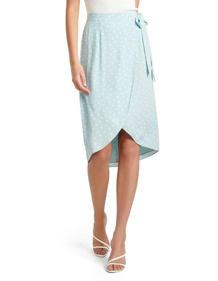 Catherine Petite Wrap Midi Skirt image 1