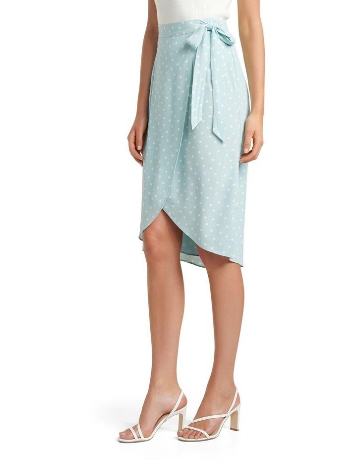 Catherine Petite Wrap Midi Skirt image 2