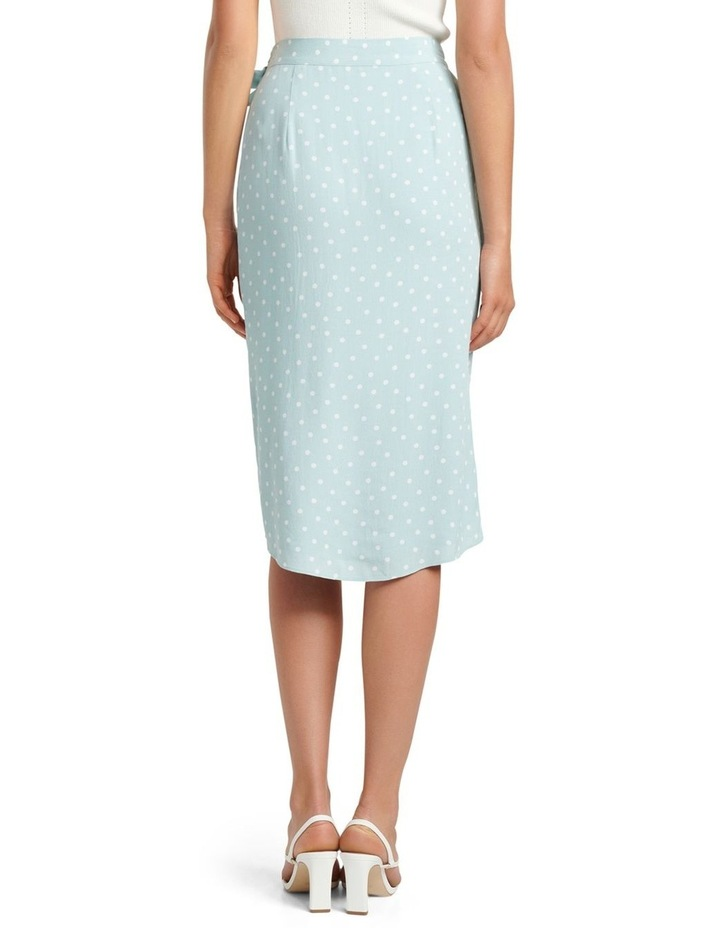 Catherine Petite Wrap Midi Skirt image 3