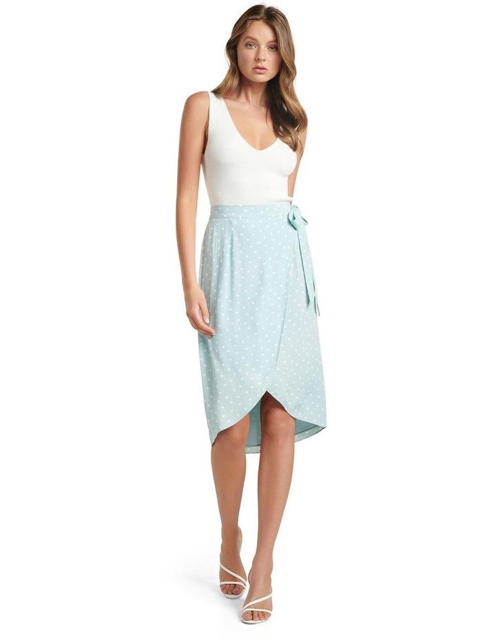 Catherine Petite Wrap Midi Skirt image 4