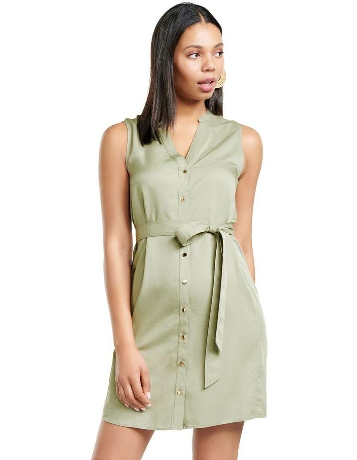 Harper Sleeveless Shirt Dress image 1