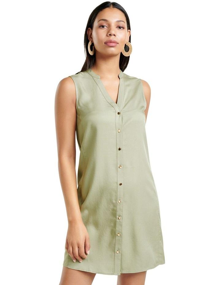 Harper Sleeveless Shirt Dress image 2