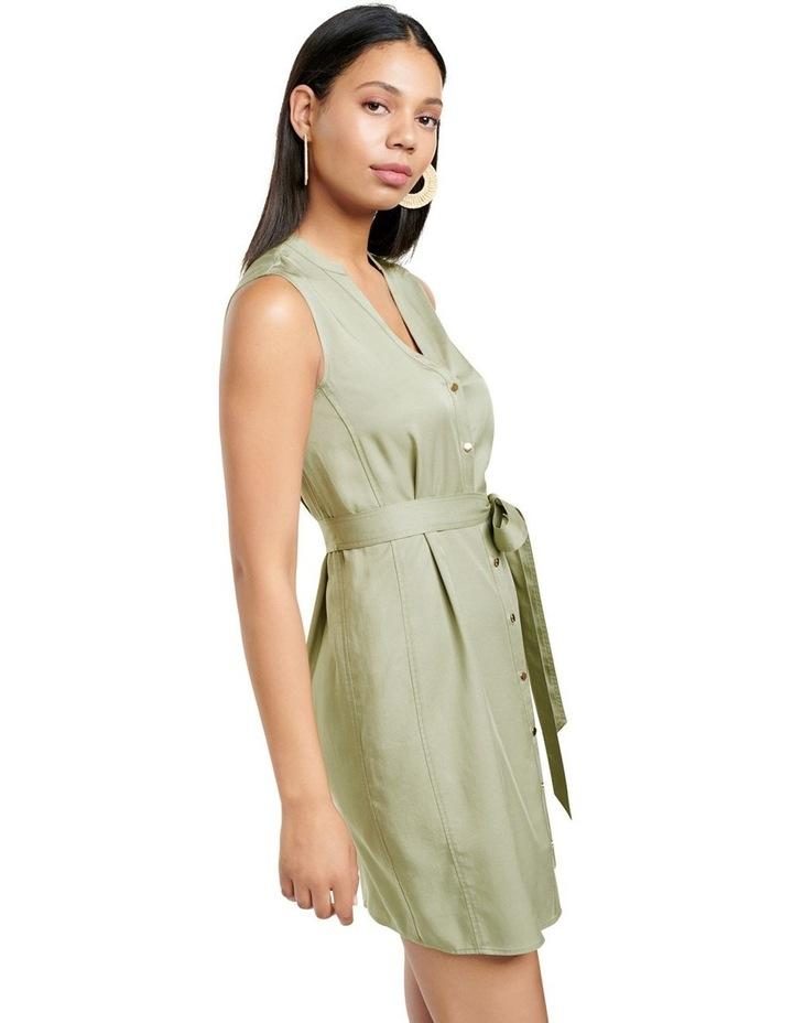 Harper Sleeveless Shirt Dress image 3