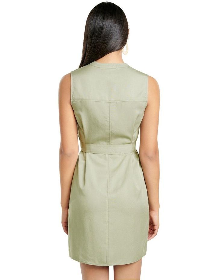 Harper Sleeveless Shirt Dress image 4