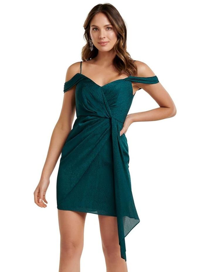 Amberley Draped Wrap Mini Dress image 1
