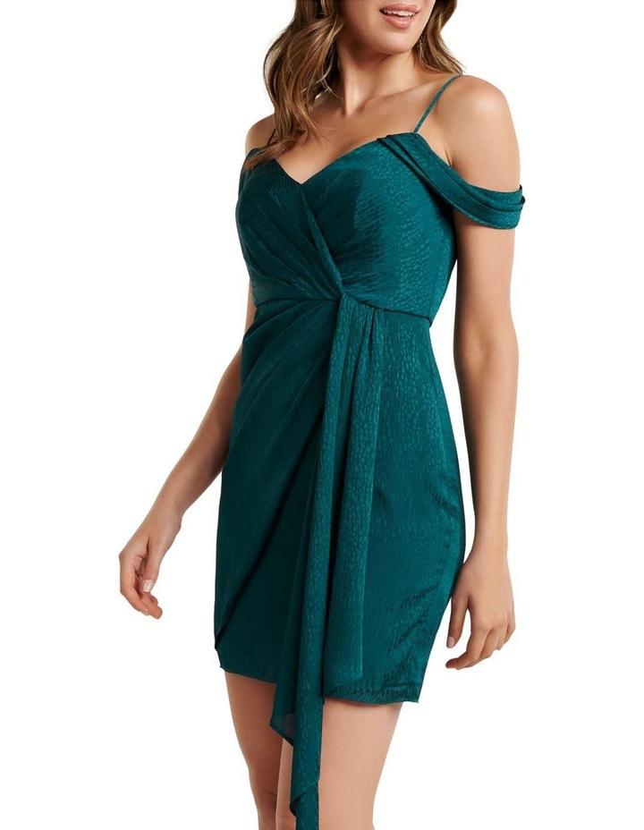 Amberley Draped Wrap Mini Dress image 2