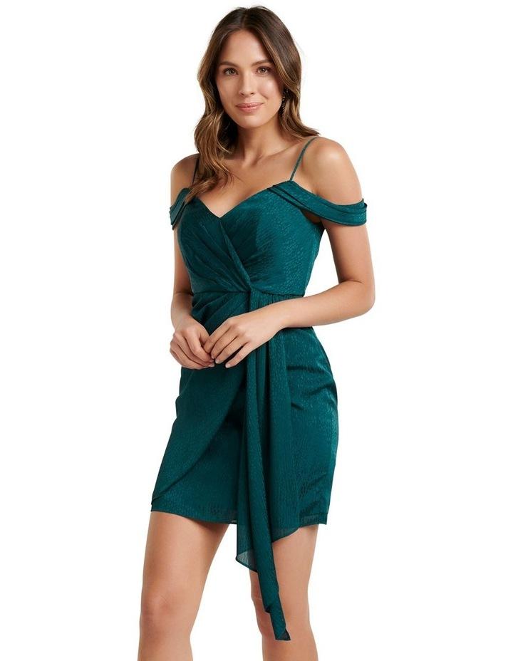 Amberley Draped Wrap Mini Dress image 3