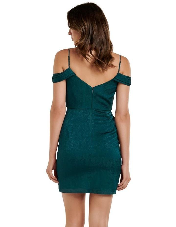 Amberley Draped Wrap Mini Dress image 4