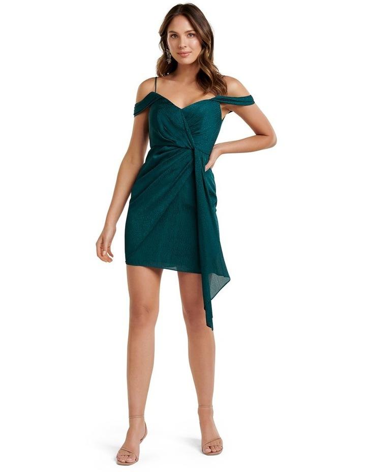 Amberley Draped Wrap Mini Dress image 5