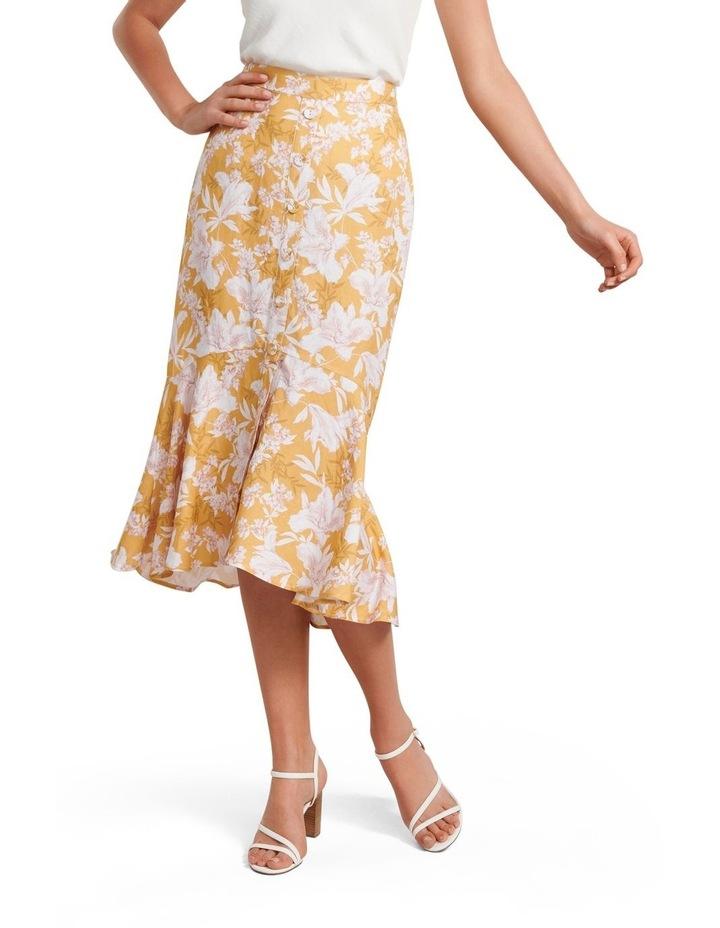 Valerie Button Down Midi Skirt image 1