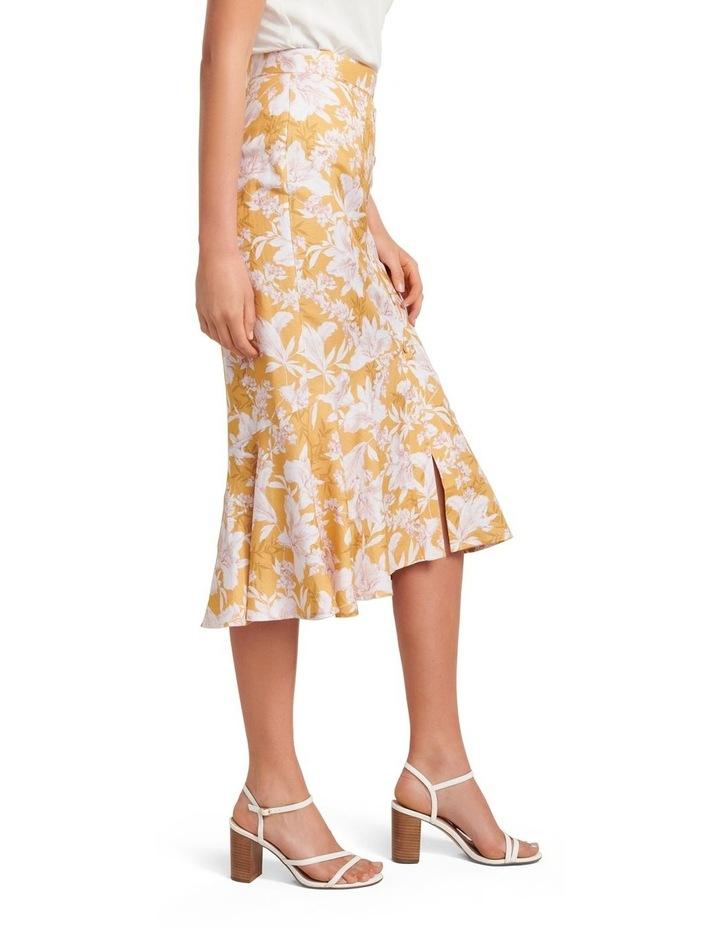 Valerie Button Down Midi Skirt image 2