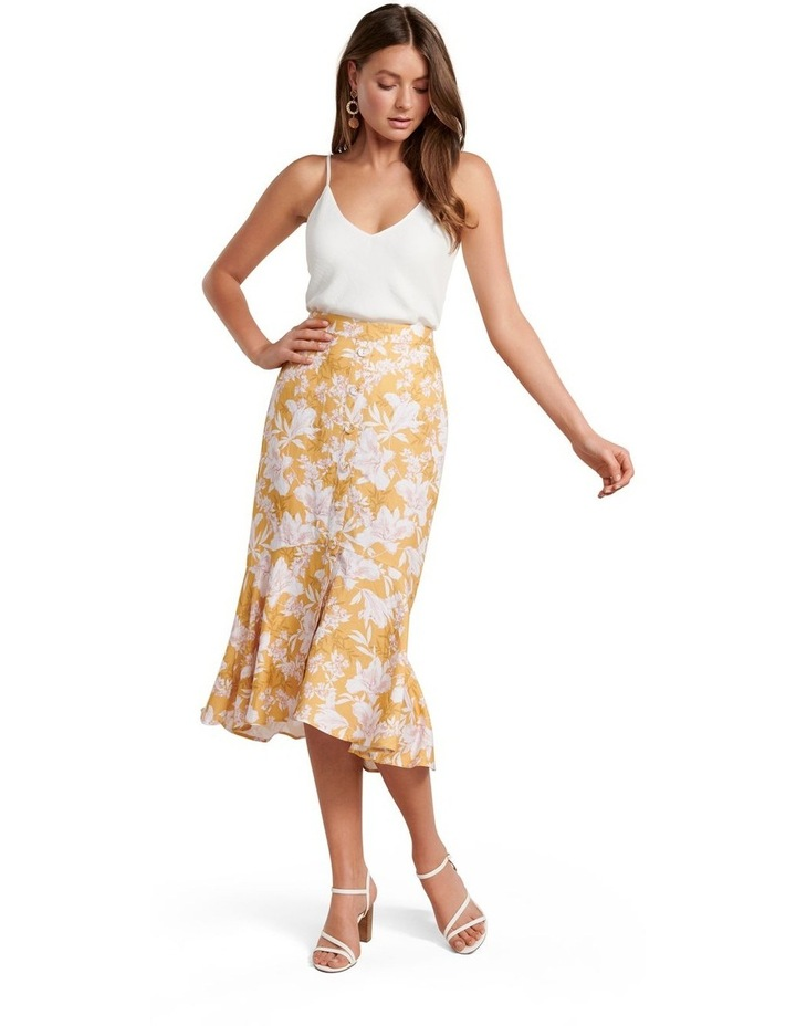 Valerie Button Down Midi Skirt image 4