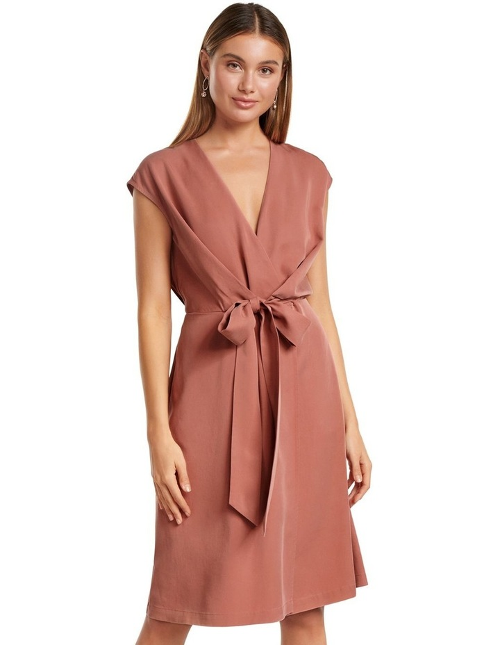 Channa Tie Detail Midi Dress image 1
