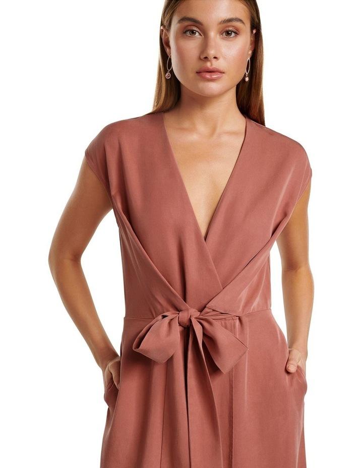 Channa Tie Detail Midi Dress image 2