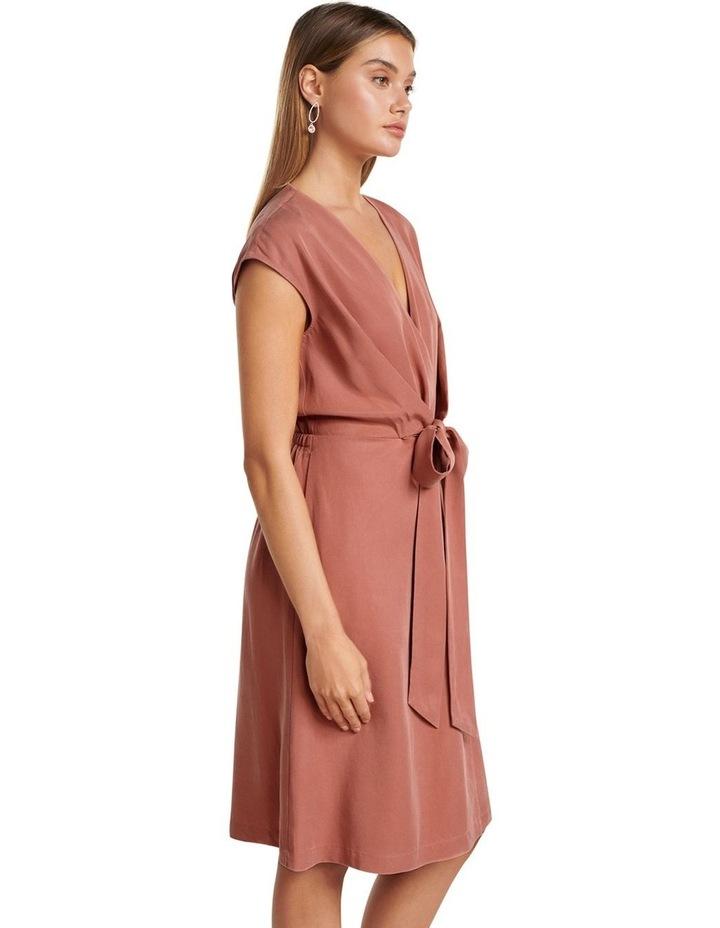 Channa Tie Detail Midi Dress image 3