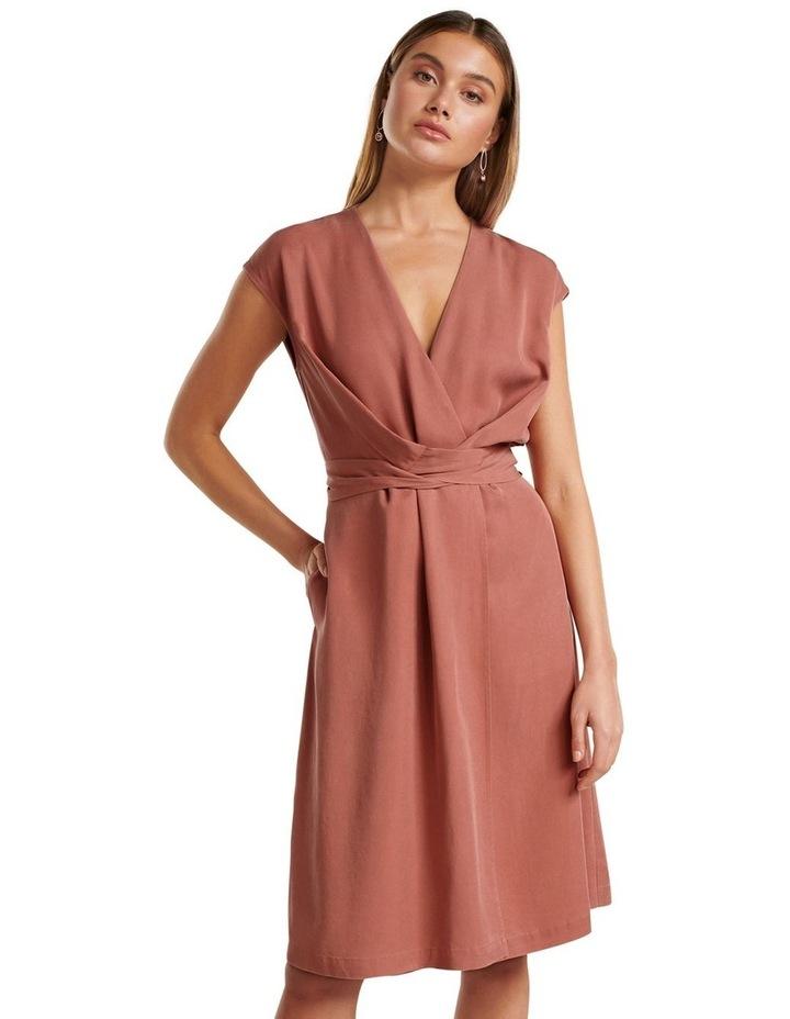 Channa Tie Detail Midi Dress image 5