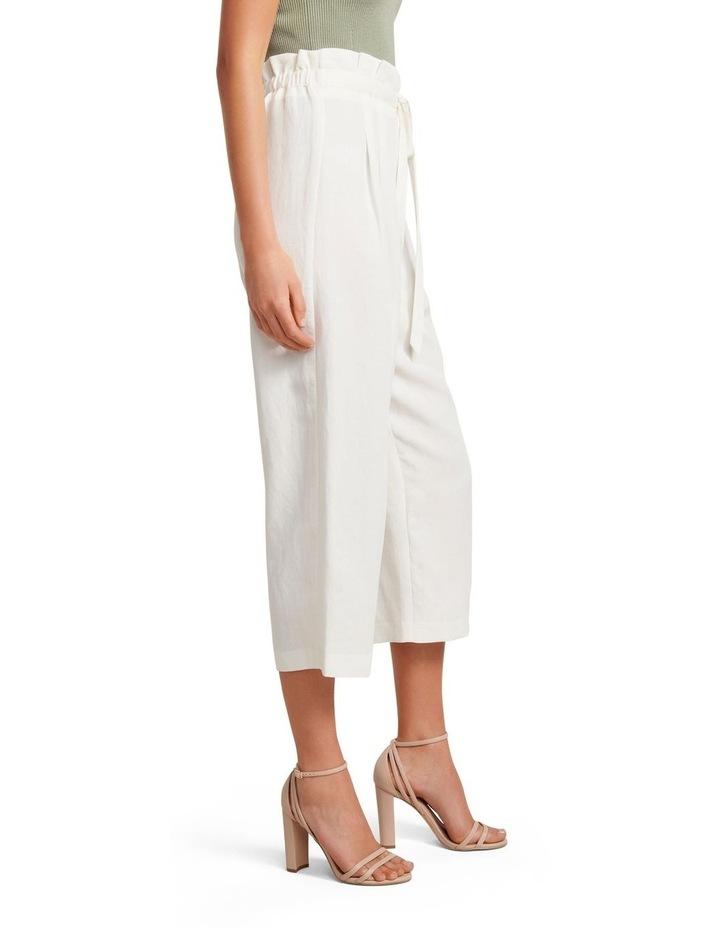 Valerie Paperbag Waist Linen Culottes image 2