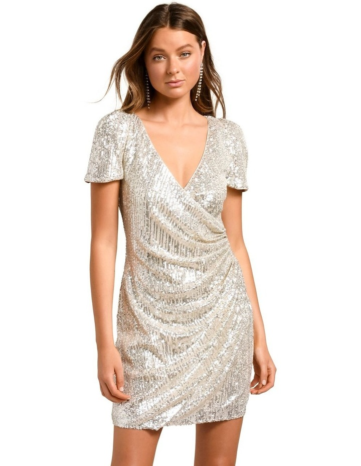Trixie Draped Mini Dress by Forever New