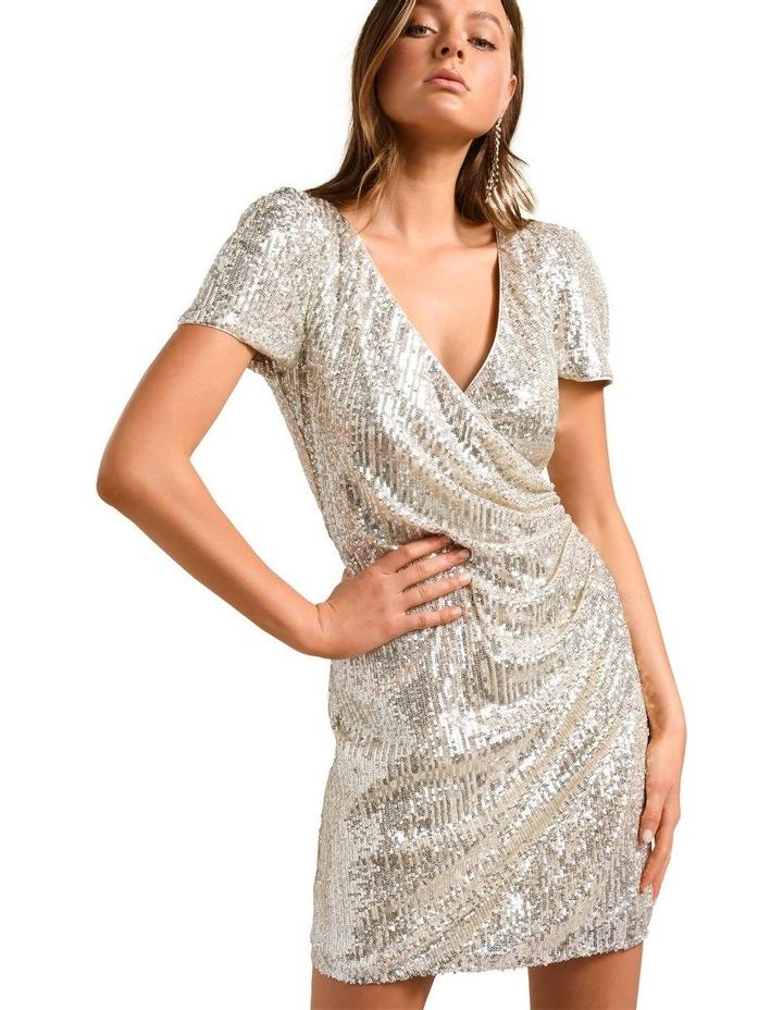 Trixie Draped Mini Dress image 2