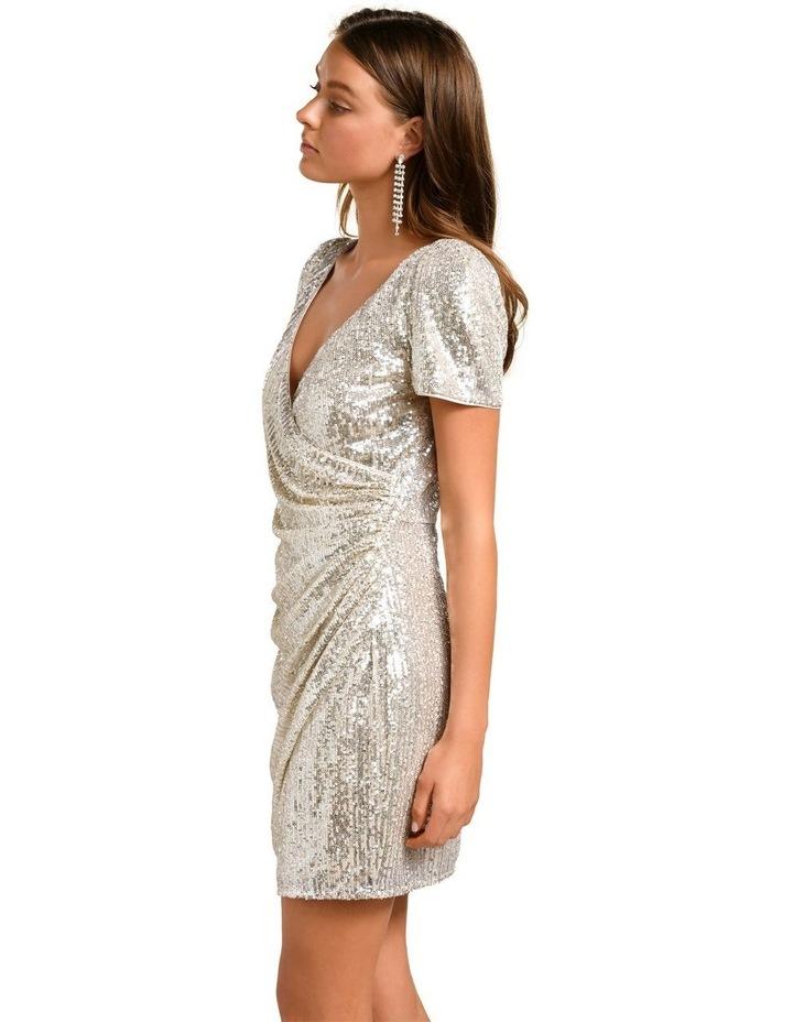 Trixie Draped Mini Dress image 3