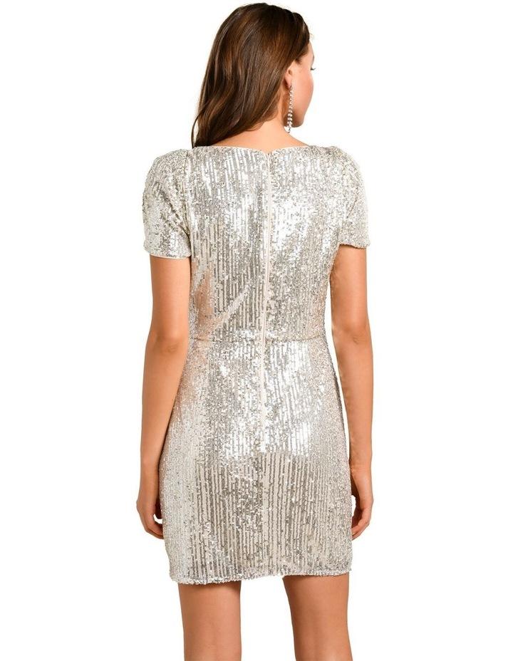 Trixie Draped Mini Dress image 4