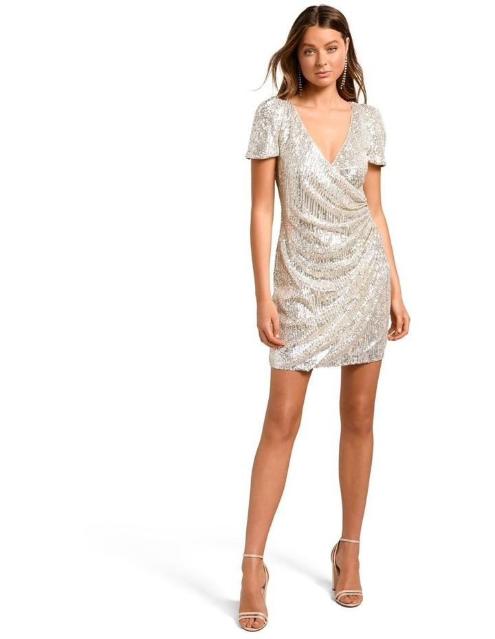 Trixie Draped Mini Dress image 5