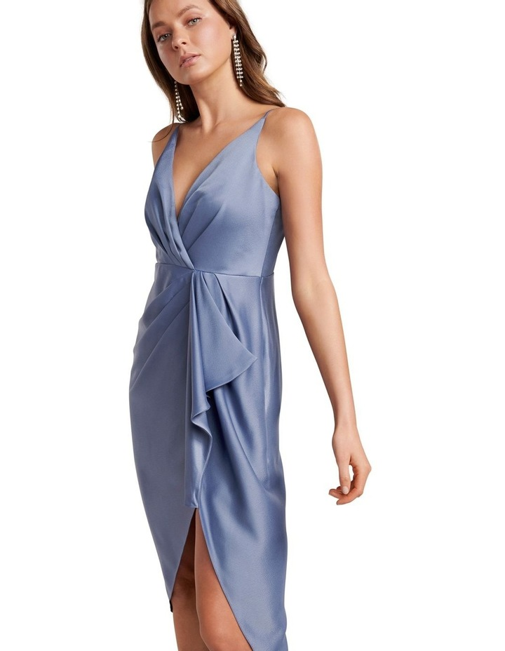Adelina Waterfall Slip Midi Dress image 2