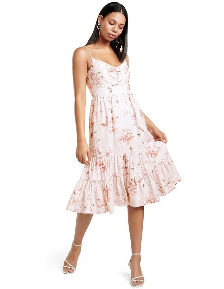 Mietta Tiered Midi Dress image 1