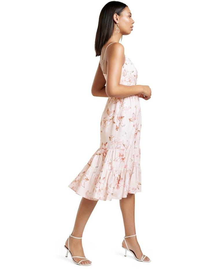 Mietta Tiered Midi Dress image 3