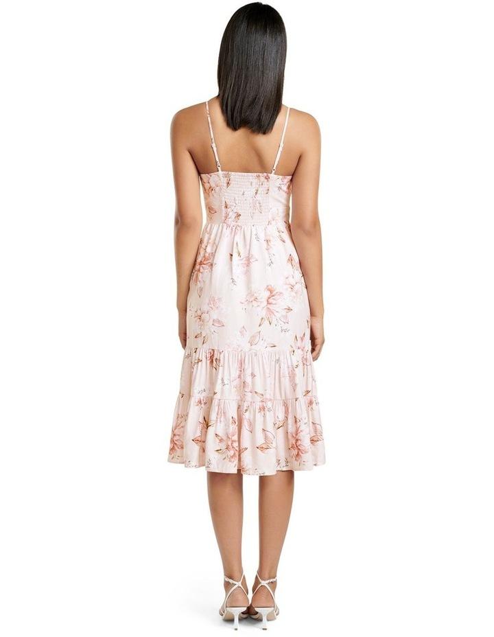 Mietta Tiered Midi Dress image 4