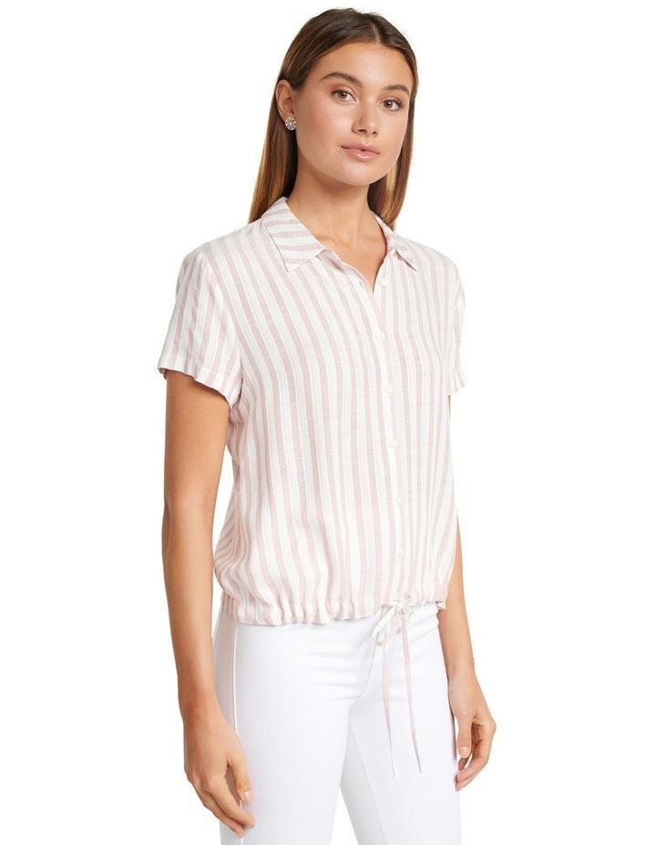 Tabitha Stripe Drawstring Shirt image 2