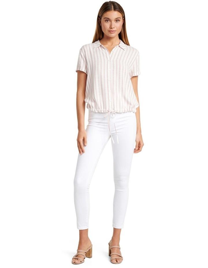 Tabitha Stripe Drawstring Shirt image 4