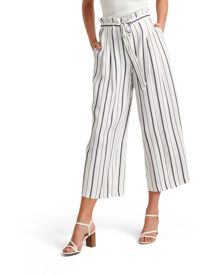 Stella Stripe Paper Bag Pants image 1