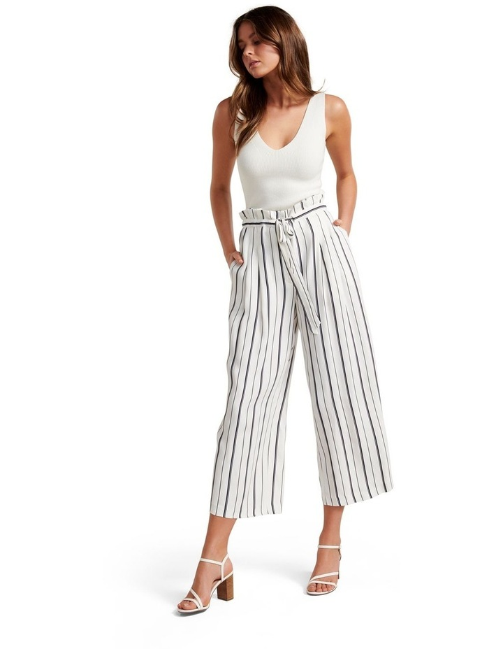 Stella Stripe Paper Bag Pants image 4