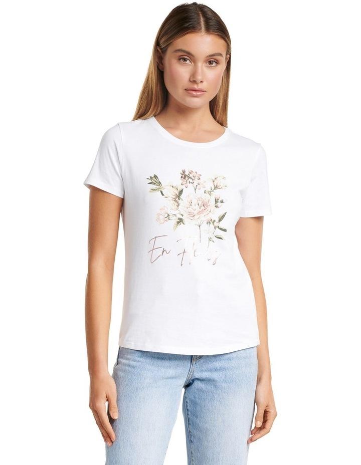 Lara En Fleur Graphic Tee image 2