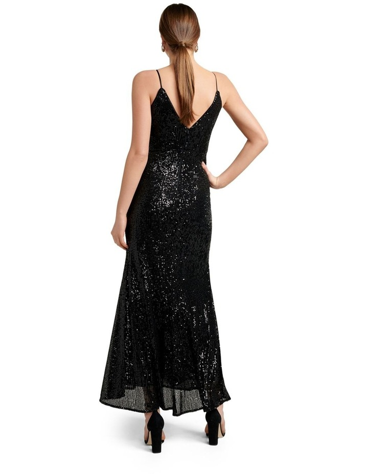 Rosaleen Sequin Ruched Gown image 4