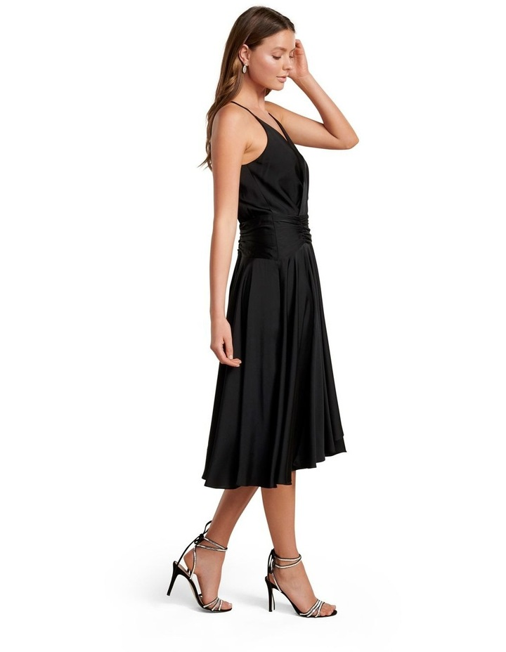 Gretchen Wrap Asymmetric Hem Maxi Dress image 3