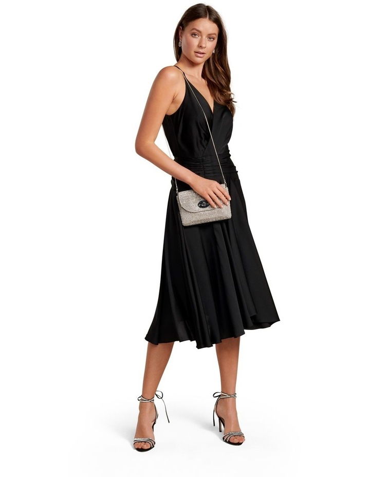 Gretchen Wrap Asymmetric Hem Maxi Dress image 5
