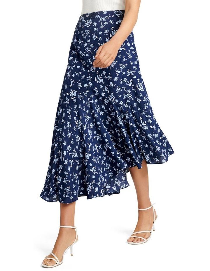 Harlow Asym Hanky Hem Midi Skirt image 3
