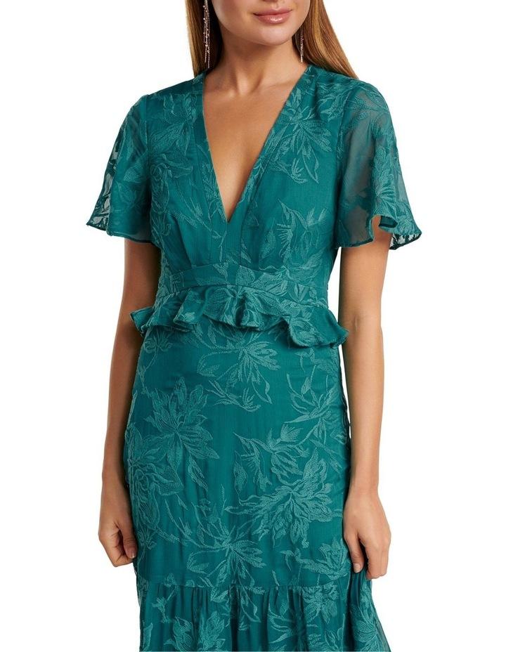 Ida embroidered Tiered Maxi Dress image 2