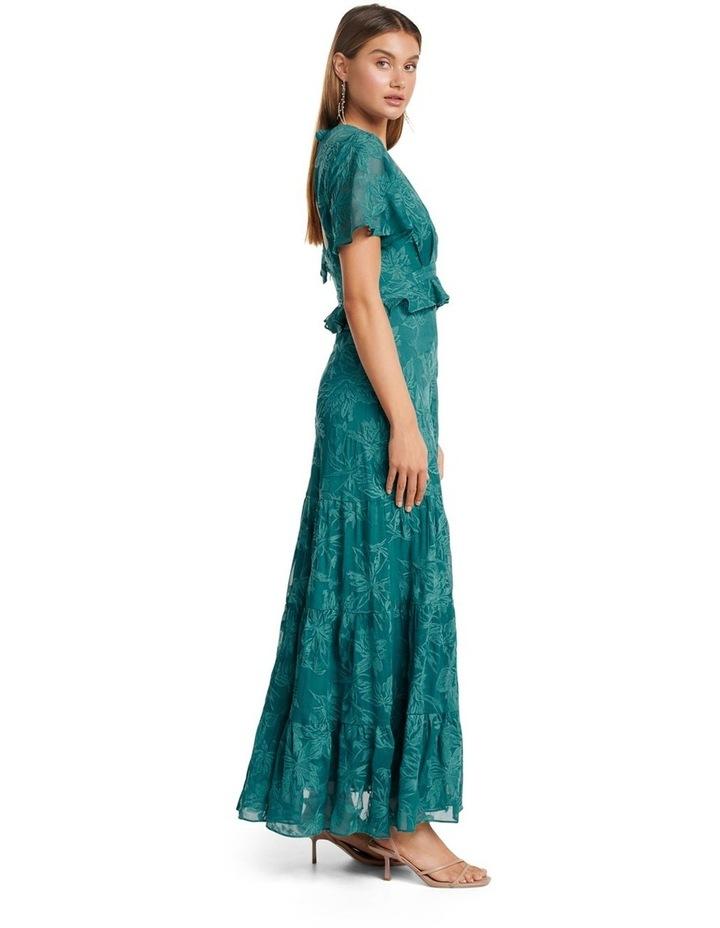 Ida embroidered Tiered Maxi Dress image 3