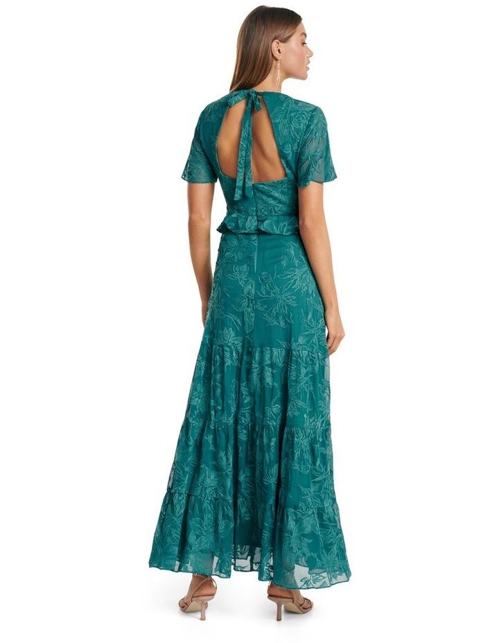 Ida embroidered Tiered Maxi Dress image 4