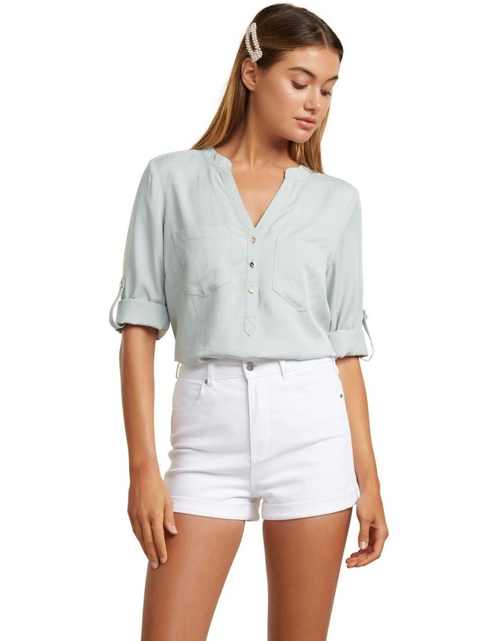 Mika Popover Roll Sleeve Shirt image 1