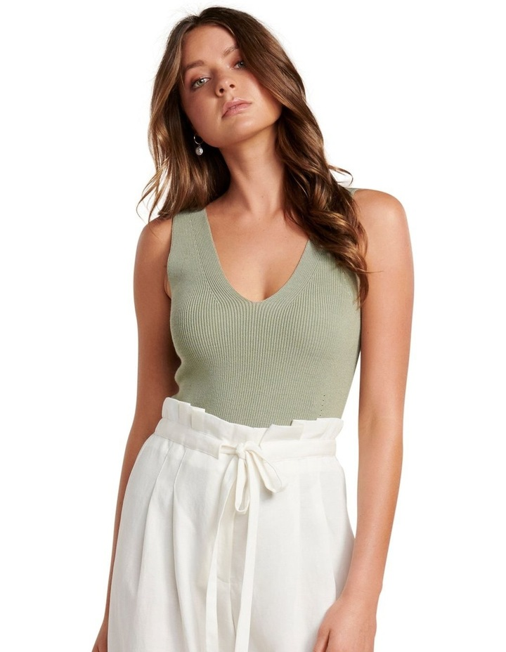 Aimee V Neck Knitted Tank image 1