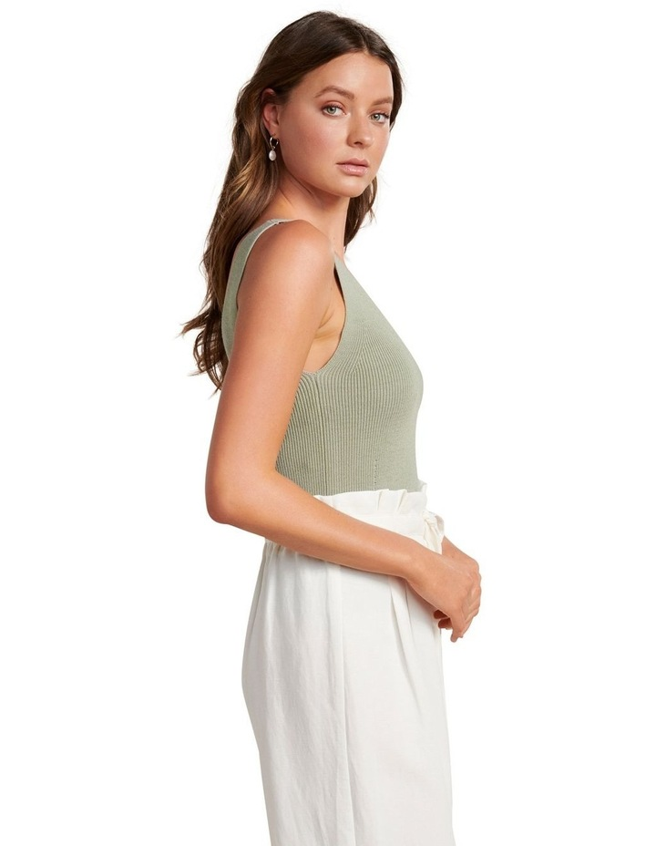 Aimee V Neck Knitted Tank image 2