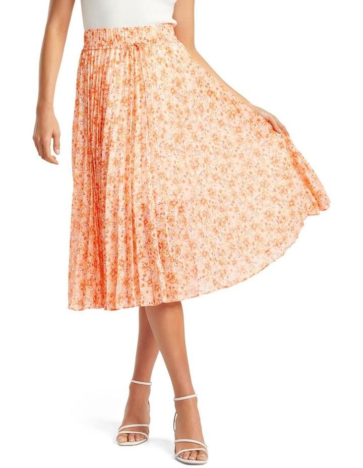 Alexis Pleated Georgette Skirt image 1
